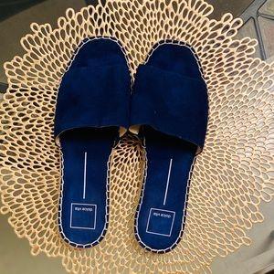 Dolce Vita Bobbi Slide Sandals in Blue